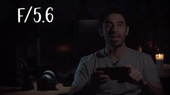 Cómo grabar vídeo con poca luz