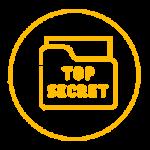 Icono de top secret